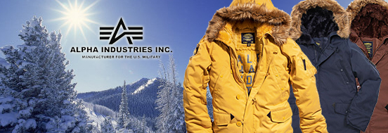 ALTITUDE PARKA ALPHA INDUSTRIES