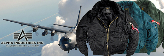 B-15 FLIGHT JACKET ALPHA INDUSTRIES