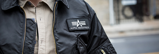 CWU 45/P FLIGHT JACKET ALPHA INDUSTRIES