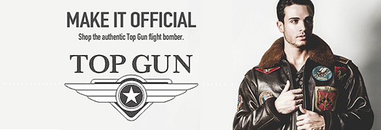 �ʲ��Ͳ ������ TOP GUN LEATHER FLIGHT JACKETS, ���