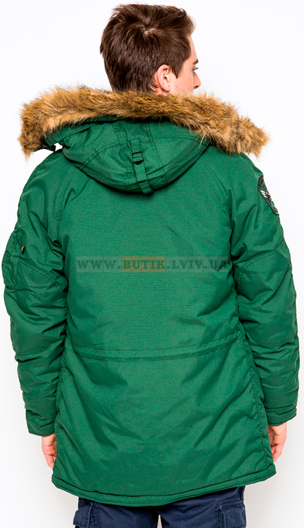 Altitude Parka Forest Greeen Alpha Industries