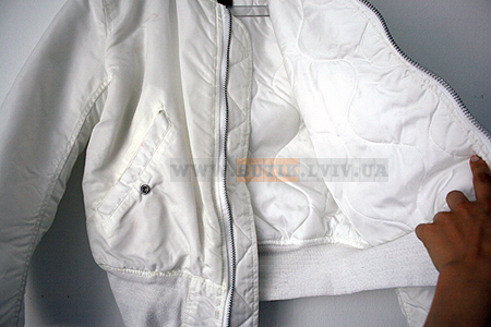 MA1 White Alpha Industries