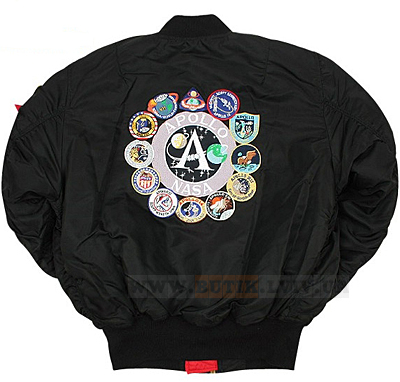 Alpha Industries Apollo MA-1 Flight Jacket