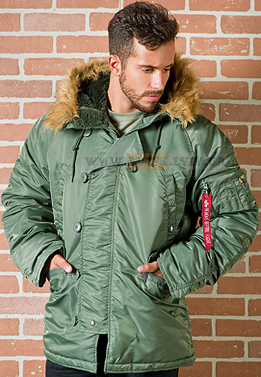 Куртка аляска N3-B Parka Alpha Industries