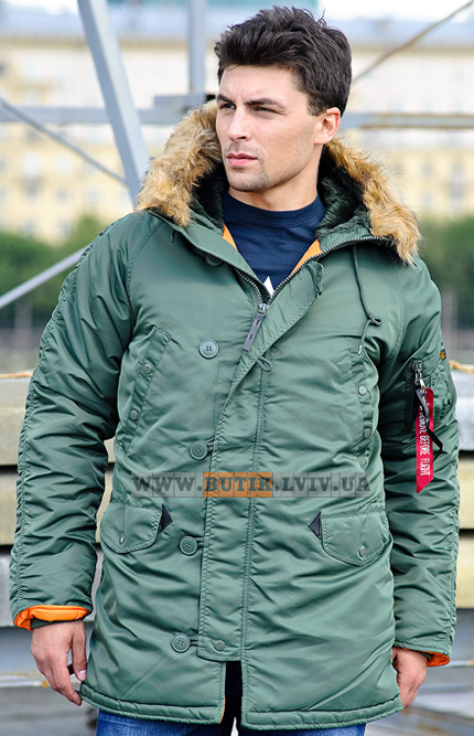 Slim Fit N-3B Parka Alpha Industries