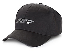 Boeing 737 Midnight Silver Hat