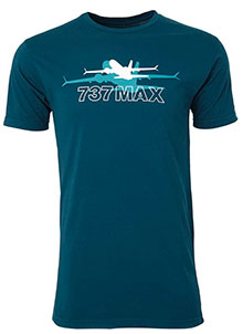 Футболка Boeing 737 MAX Shadow Graphic T-Shirt