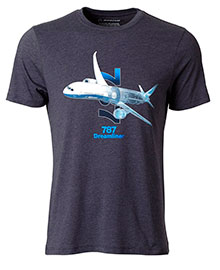 Футболка Boeing 787 Dreamliner X-Ray Graphic T-Shirt