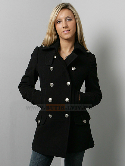 пальто Ladies Wool Long Peacoat Alpha Industries