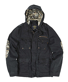 Куртка McArthur Jacket Alpha Industries (чорна)