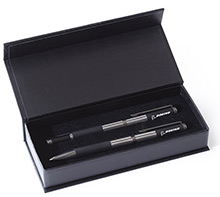 Boeing Ballpoint and Rollerball Pen Boxed Set (black satin)
