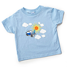 Дитяча футболка Pudgy Plane Toddler T-shirt