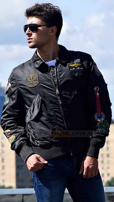 Куртка CWU Pilot Jacket Alpha Industries (черная) f29e99ed7b9aa