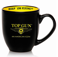 "Top Gun ""LOGO"" coffee mug (чорна)"