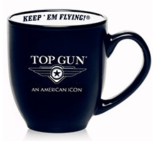 "Top Gun ""LOGO"" coffee mug (синя)"