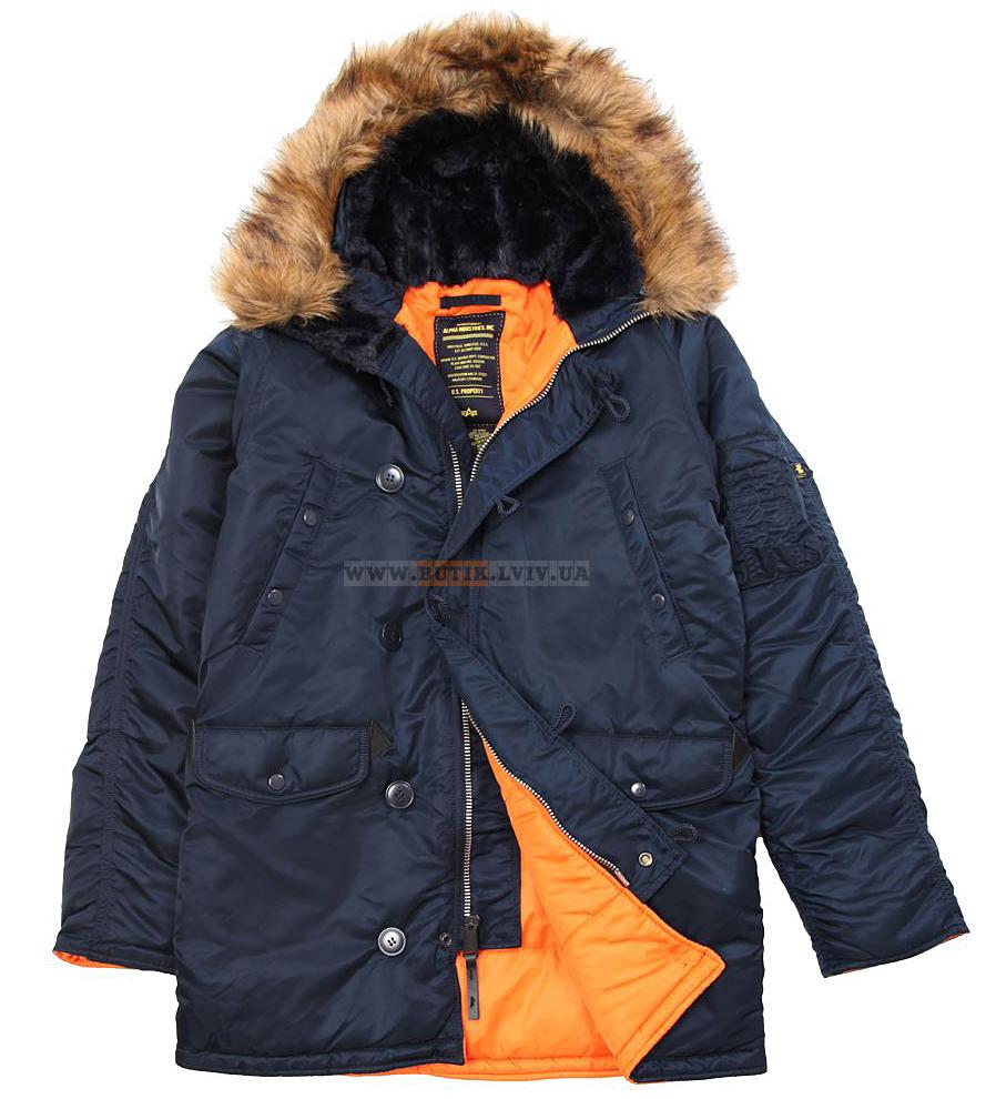Справжня куртка аляска Alpha Industries 4dc661de2f4c2