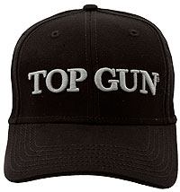 Кепка Top Gun Embroidered Cap (чорна)